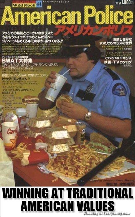 What Cops Eat For Lunch Winning At Everything